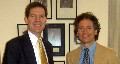 Sen Brownback and Justus Weiner - Click for larger image